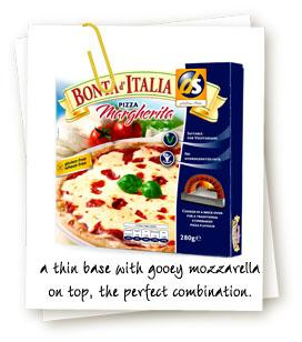 Dietary Specials Bonta D'Italia Margherita frozen gluten free pizza