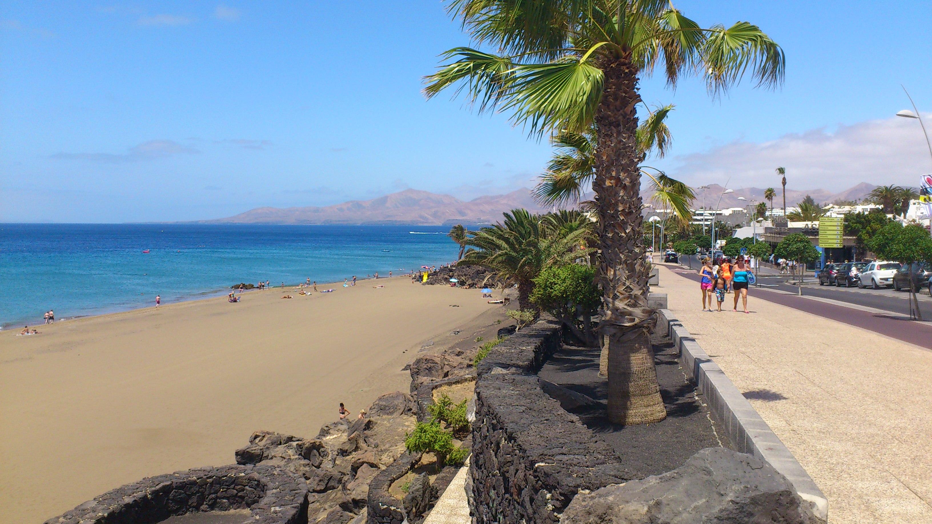 What to do see on lanzarote gluten free vegetarian uk - Lanzarote walks from puerto del carmen ...