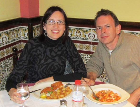 A carnivore and vegetarian living happily together