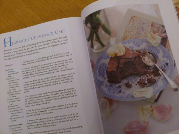 Harry Eastwood's fabulous chocolate and aubergine cake that tastes divine